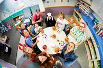 Student-Athletes Make Halloween Happy at St. Luke's
