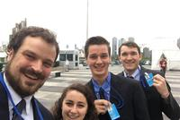 Prof. Strong and Students Attend UN Environmental Negotiations