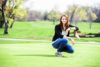 Katie Veasey '17 Links Golf, Environmental Studies in Bristol Project