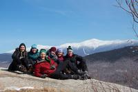Outing Club Conquers New Hampshire's White Mountains