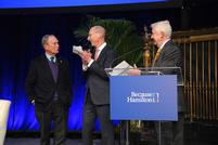 Hamilton Confers Honorary Degree on Michael Bloomberg