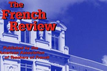 Laborde's Essay Featured in <em>The French Review</em>