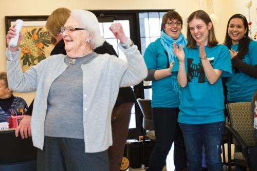 HAVOC Volunteers at Retirement Community