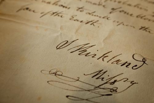 Samuel Kirkland document