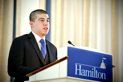 Public Speaking Competition - Christopher Delacruz '13
