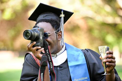 Sean Henry-Smith '15 Focusing on Career in Photography