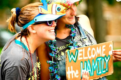 Pre-Orientation 2016: Welcome to the Hamily