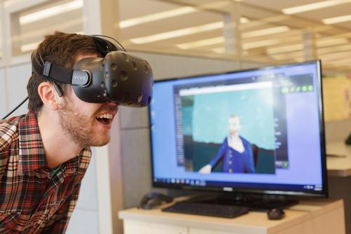 Virtual reality in the Research and Design Studio
