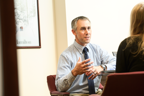 Associate Dean of Admission Tom Mariano