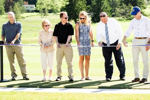 Bob Simon Golf Center Ribbon Cutting