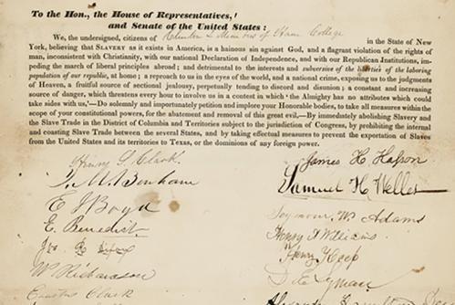 1837 Abolition Petition