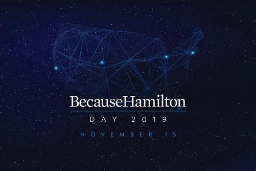 Because Hamilton Day 2019