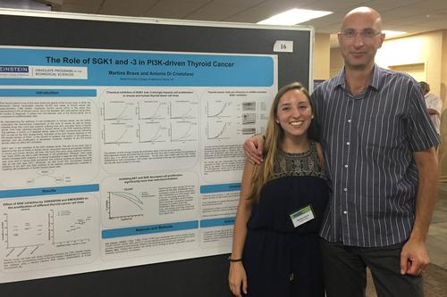 Martina Brave '17 Researches Thyroid Cancer