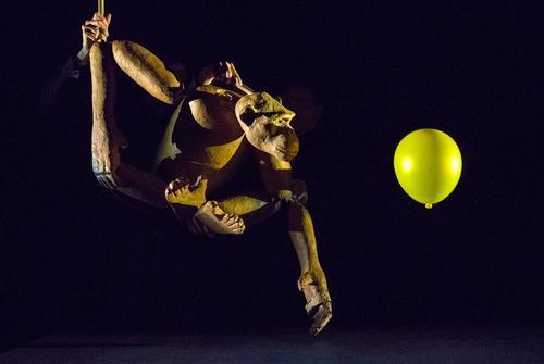 Chimpanzee: Off-Broadway puppet play