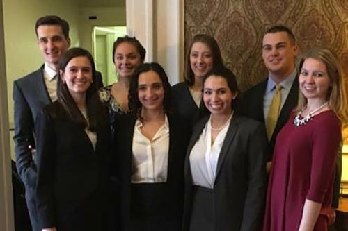 Mock Trial Places 7th at Regional Competition