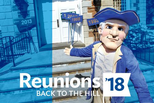 Reunions '18: June 7-10