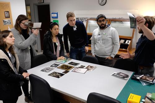 Classes Visit Eastman Museum