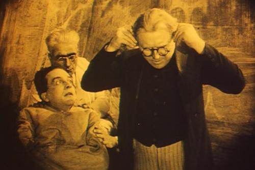 Francis Attacks the Director [still image}