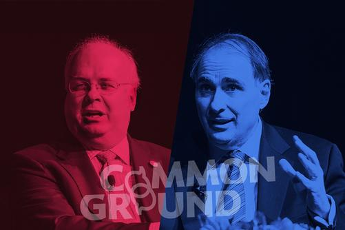 """Tickets Available Sept. 27 for Axelrod, Rove """"Common Ground"""" Discussion"""