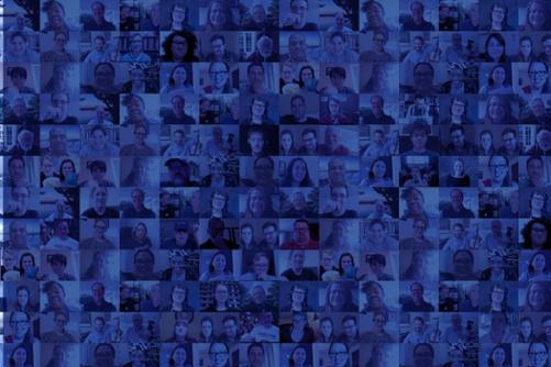 Collage of Hamiltonians gathering virtually