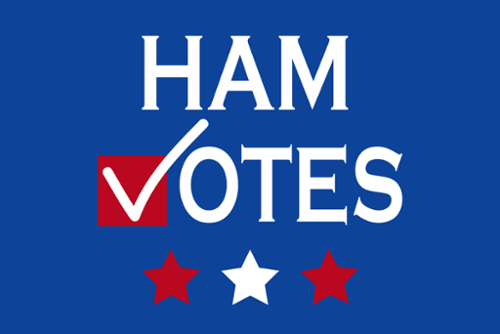 HamVotes: Supporting Democracy by Registering Voters