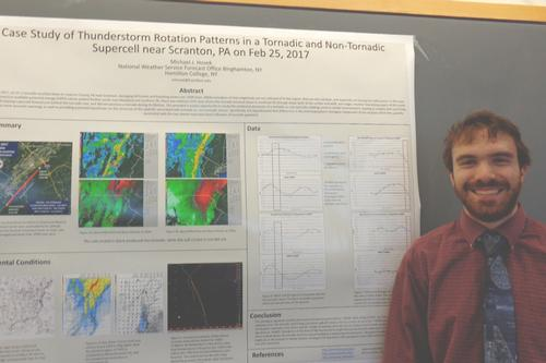 Hosek '19 Presents Poster at AMS Conference
