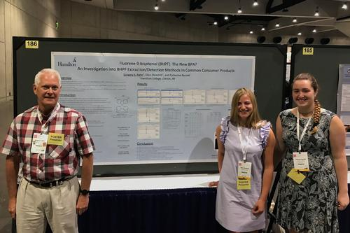 Staff, Students Present at Mass Spectrometry Conference