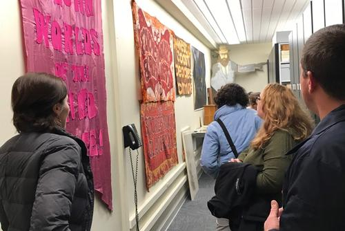 Winterthur Students Visit Burke Special Collections