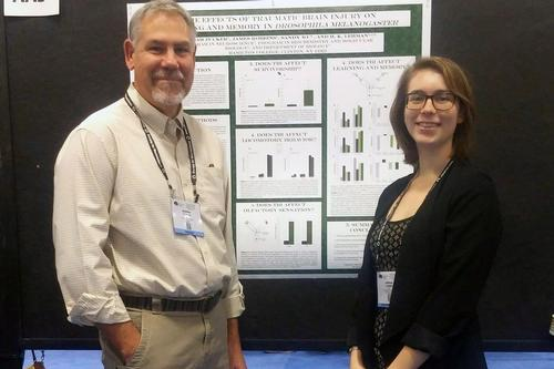 Zucker '15 and Lehman Present TBI Research