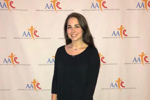 Delle-Levine '21 Participates in Theatre and Education National Conference