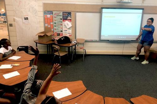 A Breakthrough Internship: Teaching Writing, Learning Lots