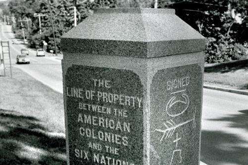 Treaty Marker