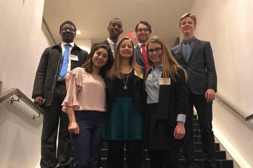 MUN Team Competes in Harvard Conference
