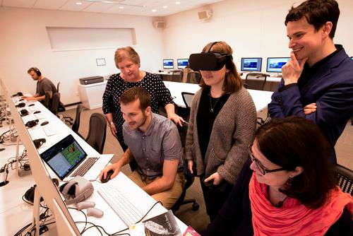 Hamilton Receives Digital Arts & Technology Grant