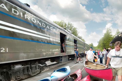 Adirondack railroad