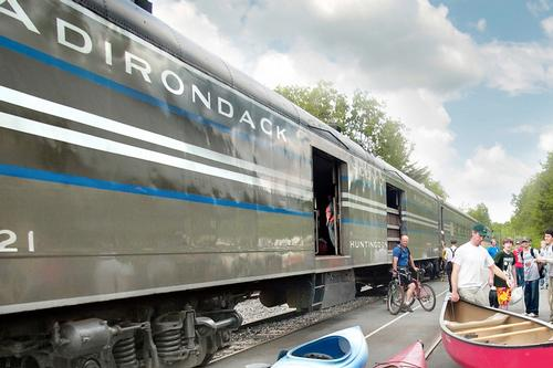 Adirondack railroad