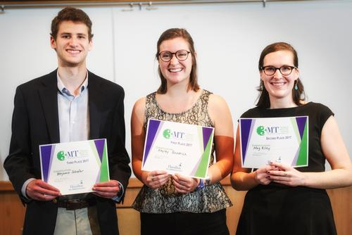 2017 Three Minute Thesis Competition Winners
