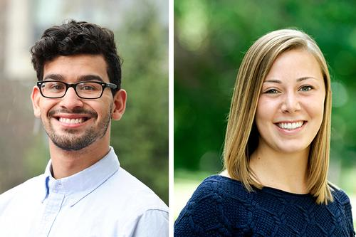Angel Pichardo '17, Hannah Strong '17 Awarded Gilman Scholarships