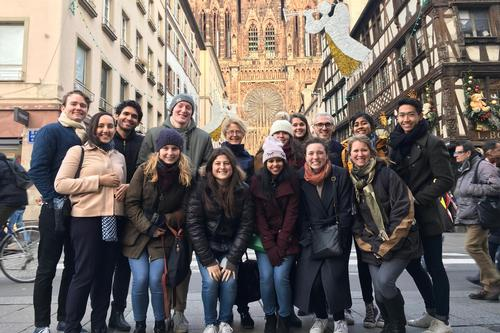 Sampling Strasbourg: A Hamilton in France Excursion