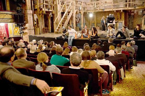 Alumni attend a special session with cast of Hamilton the Musical