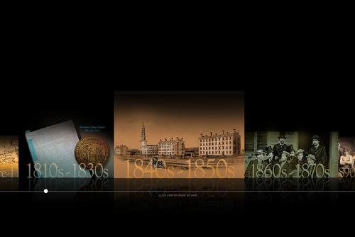 Bicentennial Timeline screenshot