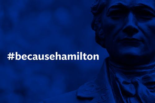 BecauseHamilton graphic