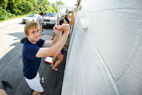 Hamilton Serves student painting