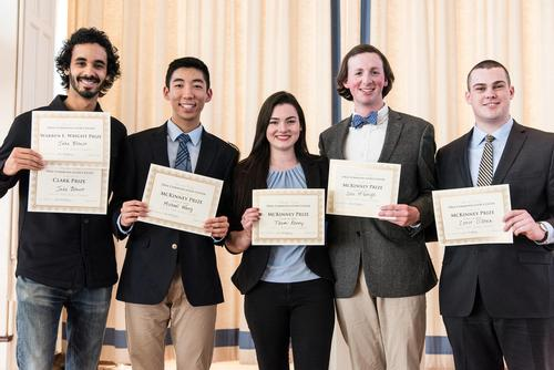 2017 Public Speaking Competition Winners