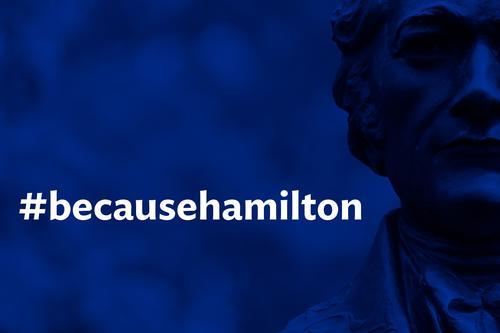 BecauseHamilton graphic