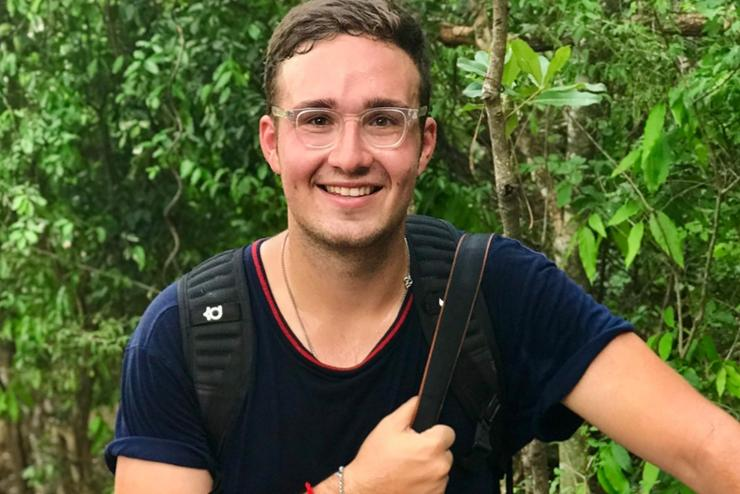 Because Hamiltonians Report and Reflect: Charles Dunst '18