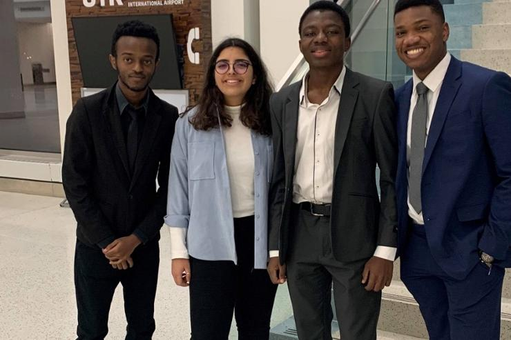Four Students Attend Harvard Africa Business Conference