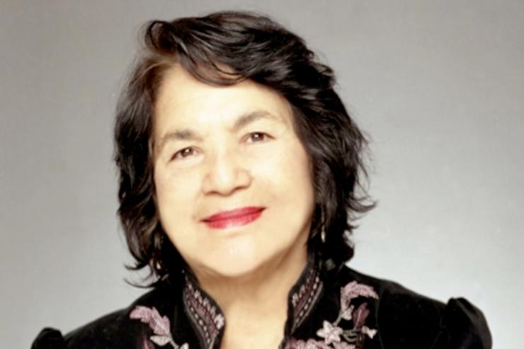 Dolores Huerta to Give Voices of Color Lecture