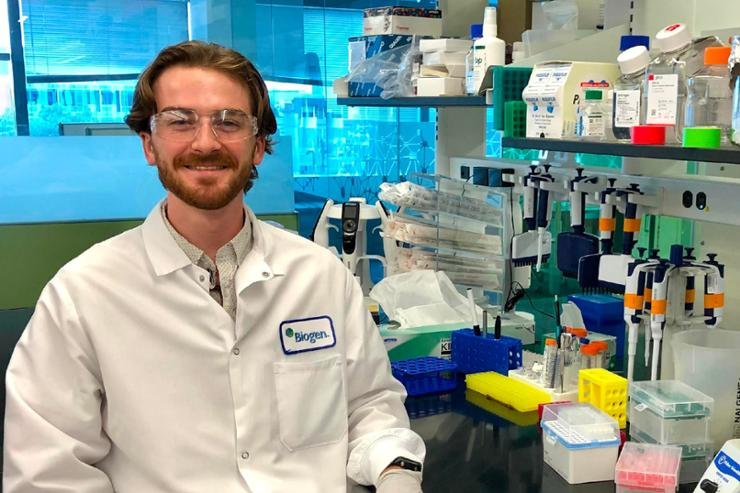 Cohen-Abeles '23 Researching Parkinson's at Biogen