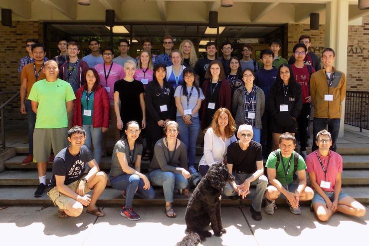 Students Attend Notre Dame Math Workshop